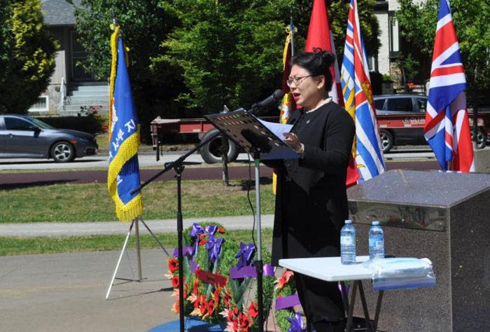 넬리 신 하원의원, 6.25 기념식 연설문