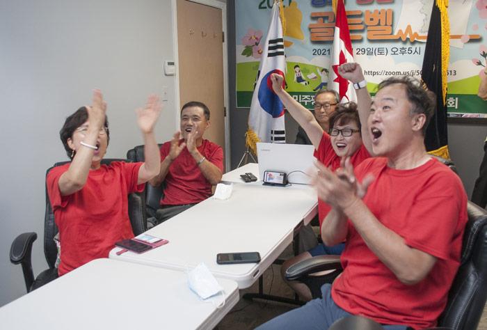 민주평통밴쿠버협의회, 노래경연대회 최우수상 수상